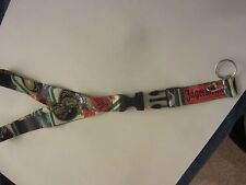 Official Jagermeister Lanyard Key Chain with Detachable Clip