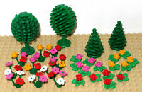 Lego  Multi Coloured Flowers / Plants, Trees, Flowers Bundle - 32 Pieces