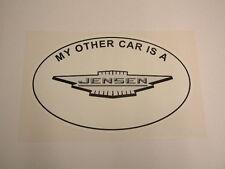 My Other Car is a Jensen - CV8 541 Interceptor FF GT Healey
