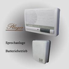 Plieger Sprechanlage 1 Familienhaus Set 9V Batterie-Betrieb Wechselsprechanlage