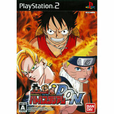 BATTLE STADIUM D.O.N. NTSC-J JP JAP PS2 Anime Game Naruto One Piece Dragon Ball