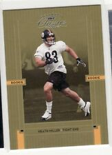 HEATH MILLER PITTSBURGH STEELERS 2005 DONRUSS CLASSICS # ROOKIE CARD 176
