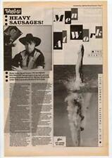 Men At Work Two Hearts Advert NME Cutting 1985
