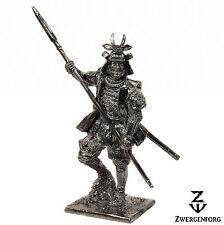 Tin Toy SOLDIER 54mm JAPANESE Samurai WARRIOR Medieval JAPAN Metal Tin Figure