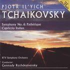 Pjotr Ilyich Tchaikovsky - Symphony no. 6 Pathetique - Capriccio italien - CD -