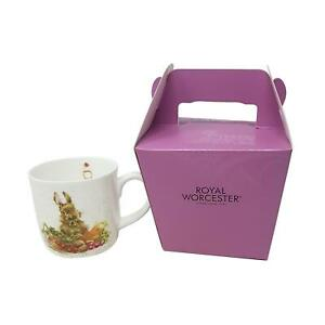 BOXED WRENDALE OFFICIAL LICENSED GARDEN VEGETABLE HARE PORCELAIN CHINA MUG CUP