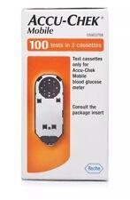 Accu-Chek Mobile Diabetes Test Strip Cassettes (2x50 tests = 100)