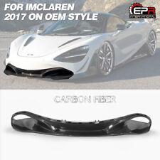 OEM Carbon Fiber Front Bumper Spoiler Lip Body Kits For 2017-2019 McLaren 720S