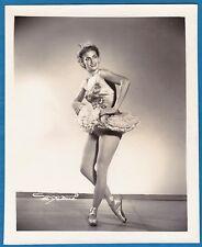 vintage photo exotic sexy ballet dancer girl by Armand Habana Cuba foto ca 1955
