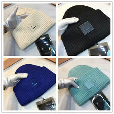Acne studios Beanie mit Face Hüte Mützen Face Beanie Skull Caps Hats