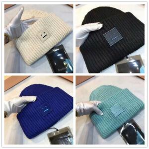 2021 Acne studios Beanie mit Face Hüte Mützen Face Beanie Skull Caps Hats