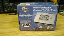 NEW MediaGear Flash-HD To Go 20GB Harddrive Copy SD without PC  USB 2.0 NOS