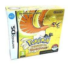 Jeu Pokemon Or Heart Gold Complet avec Pokewalker Nintendo DS Version FR