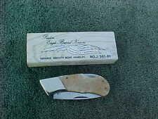 PARKER Eagle Brand Lockback Pocket Knife Surgical Steel Japan NIB Smooth Bon NOS