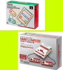 New Nintendo Classic Mini Super + Famicom set Game console From Japan official