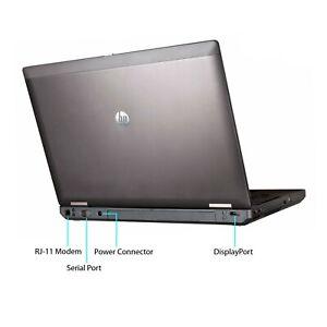 "[C] HP ProBook 6570b Laptop 15.6"" i5-3320M@2.60 4GBRAM 500GB HDD DVD Win10"