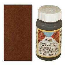 2 bottles Eco-Flo Leather Dye 4.4 fl. oz. (132 ml) Timber Brown - FREE SHIPPING!