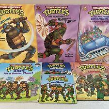 TMNT • 7 Children's Books • Vintage Teenage Mutant Ninja Turtles