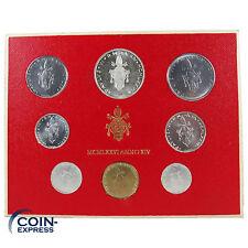 *** LIRE KMS VATIKAN 1976 BU Lira Vaticano Münzen vor Euro ***