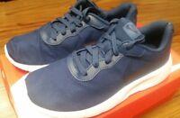 859613-401 Nike TANJUN (GS) Grade School Kids Navy Blue/White Athletic Shoes
