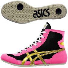 Asics Japan Wrestling Boxing Shoes Ex-Eo Black Pink Gold Twr900 Flat Sole 90