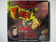 T-Men & Raw Deal 1947-48 Roan Laser Disc NEW Dennis O'Keefe June Lockhart n-Mint