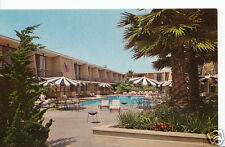 America Postcard - World's First Fly-In Hotel, L.A International Airport  G884