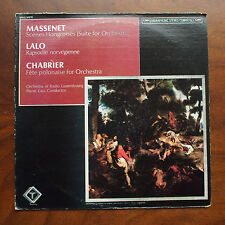 Massenet/Lalo/Chabrier: Selections by Radio Luxembourg Orch - Quadraphonic LP