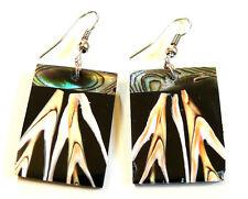 BOUCLES D'OREILLES BIJOUX COQUILLAGE NACRE ethnique nacre shell earrings