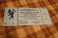 1985 Widow Sons' Lodge #11 MASONIC Charity Dance Ticket Rare !