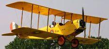 Early Bird Jenny USA Light Sports Airplane Mahogany Kiln Wood Model Small New