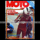 MOTO JOURNAL N°179 GODIER-GENOUD KREIDLER 50 VAN VEEN CROSS GRAND PRIX SPA 1974
