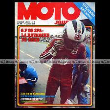 MOTO JOURNAL N°179 GODIER-GENOUD KREIDLER 50 VAN VEEN CROSS GRAND PRIX SPA 1974