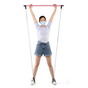 Pulling Portable Fitness Pilates Bar Yoga Bar Exercise For Exercise For Slimming