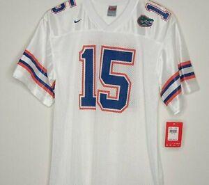 Tim Tebow Nike Jersey #15 University of Florida Gators Football White NCAA UF