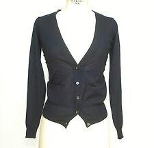 MARNI Cardigan V-neck Sweater dark Navy  38 / S