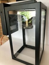 Southampton Light Large Wall Bracket With Microwave Sensor in Antique Black