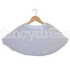 White with Sequin Stars Tutu Child Adult Tutu Skirt Christmas Fancy Dress