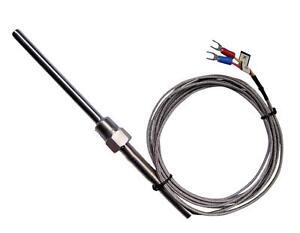 K Type Thermocouple High Temperature 8mm diam Probe Sensor 1250°C 3M Kiln Oven