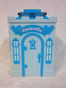 "Disney Cinderella Fold Out Dollhouse Accessory 7"" Castle Toy"
