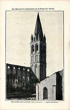 CPA Beaulieu les Loches - Eglise abbatiale (279812)