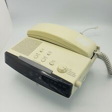 Ge Model 2-9710A 12 Number Memory Fm/Am Clock Radio Telephone , Tested , Works!