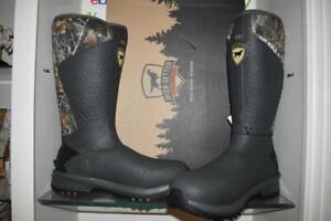Irish Setter Adults' MudTrek Waterproof Insulated Rubber Boots 4846 Realtree NIB