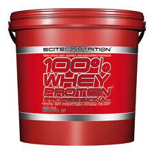 Scitec Nutrition (15,50�'�/kg) 100%25 Whey Protein Prof 5000g 5Kg Eiweiss plus BONUS