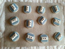 Art Deco Celluloid Collectable Sewing Buttons