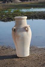 Amphore mit 4 Henkeln,Terracotta,Tunesische Handarbeit,40cm hoch