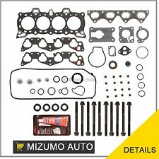 Head Gasket Bolts Set Fit 92-95 Honda Civic 1.5L D15B7