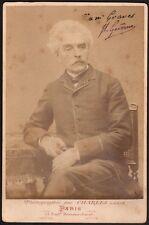 Peintre Gérome. Dédicacée Henry Graves. Patek Philippe. Carte album Ca 1880