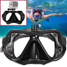 Professional Underwater Camera Diving Mask Scuba Snorkel Swimming Goggles New