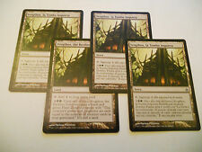 4x MTG Svogthos La Tomba Inquieta-The Restless Tomb Magic EDH RAV Ravnica x4